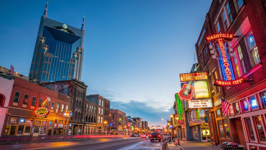 10 best places in the US - Nashville