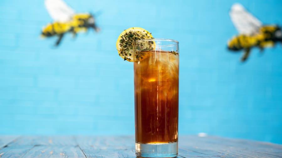Vege Nation CBD Whiskey Tea