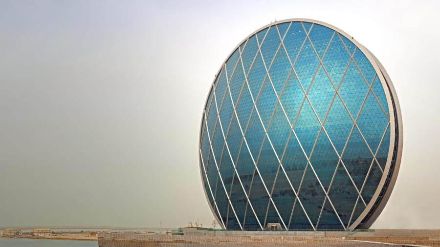 Abu Dhabi's Unusual Architecture Delivers Surprises