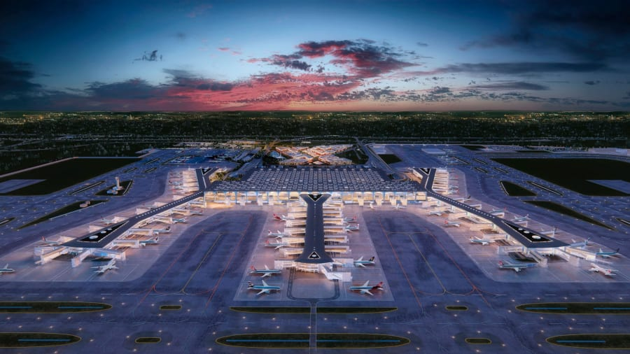 Turki Punya Bandara Terbesar Dunia, Cek Spesifikasinya