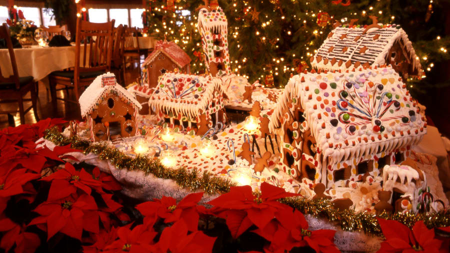 christmas hotels mohonk mountain gingerbread - Images For Christmas