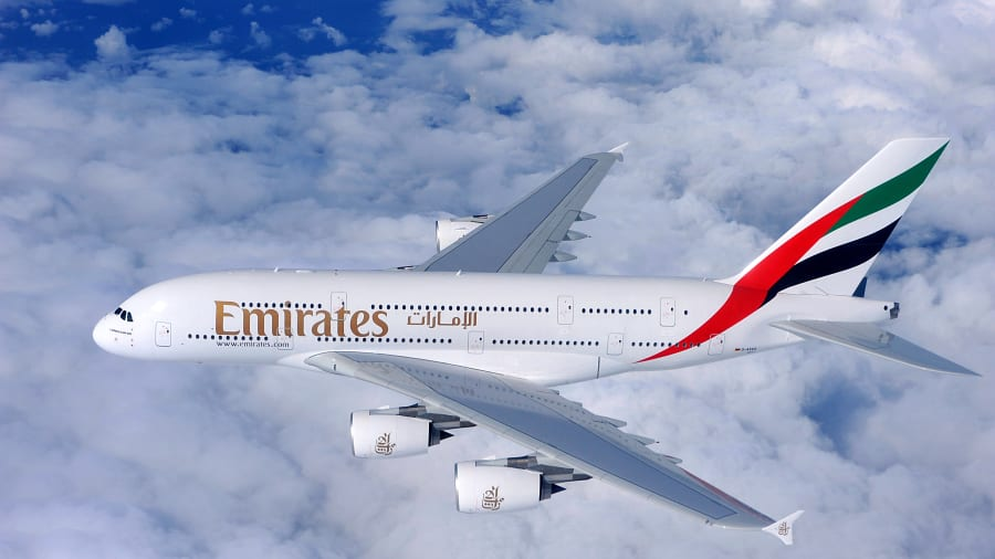 Emirates courtesy of AirlineRating.com