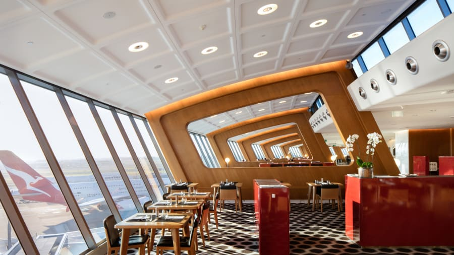 12 best airport lounges_Qantas