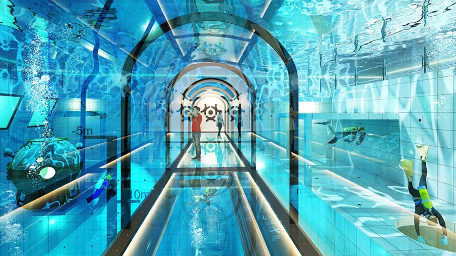 Kolam Terdalam di Dunia Akan Dibuka di Polandia