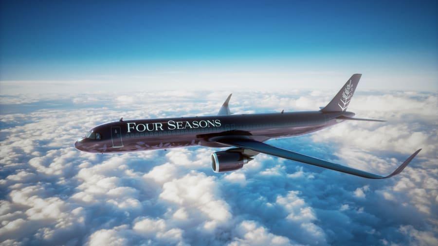 Four Seasons New private jet - rendering - JTT_233_aspect16x9