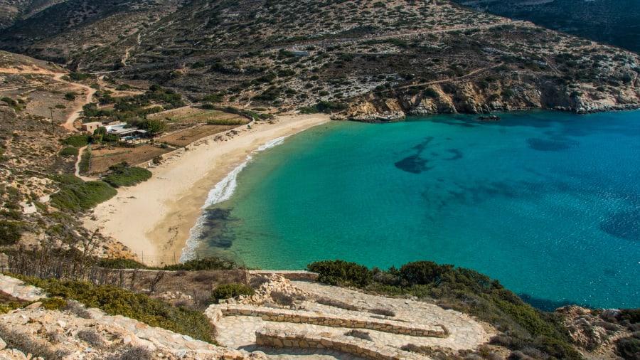13 greek beaches