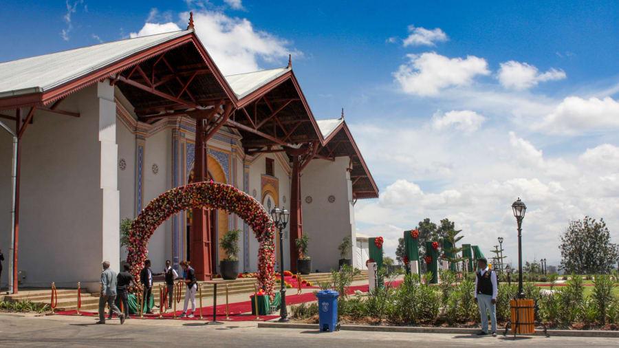 Ethiopia imperial palace--2