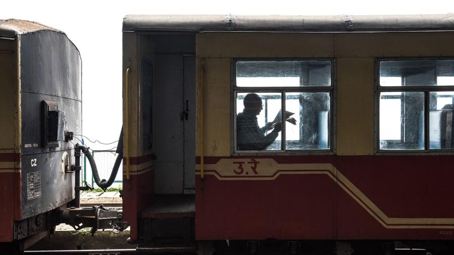 India Kalka-Shimla toy train-830936104