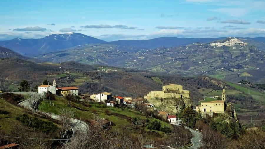 Laurenzana €1 homes on sale-panorama-c-moreno