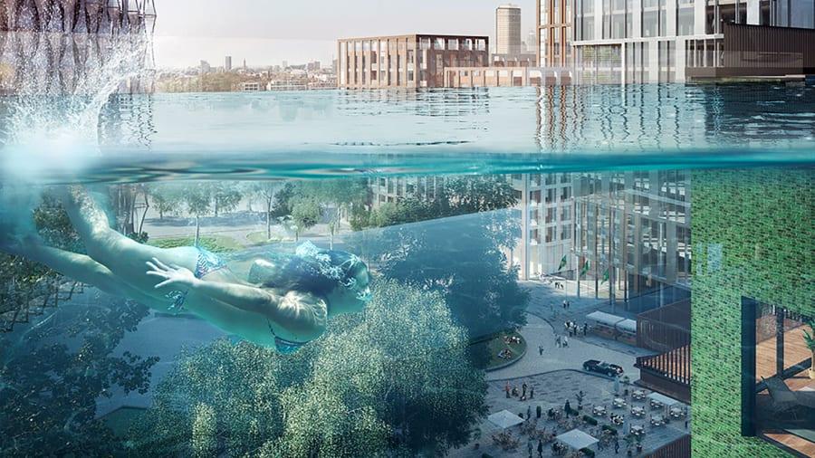 London's new see-through Sky Pool Http%3A%2F%2Fcdn.cnn.com%2Fcnnnext%2Fdam%2Fassets%2F210426141200-2-embassy-gardens---sky-pool-3