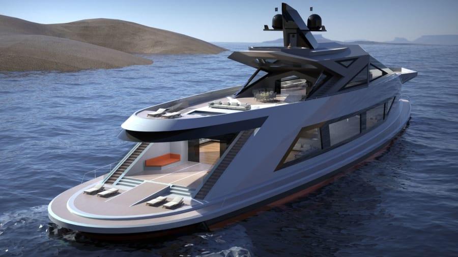 Saturnia-superyacht-concept --- paraqitje e jashtme --- Lazzarini-design-studio