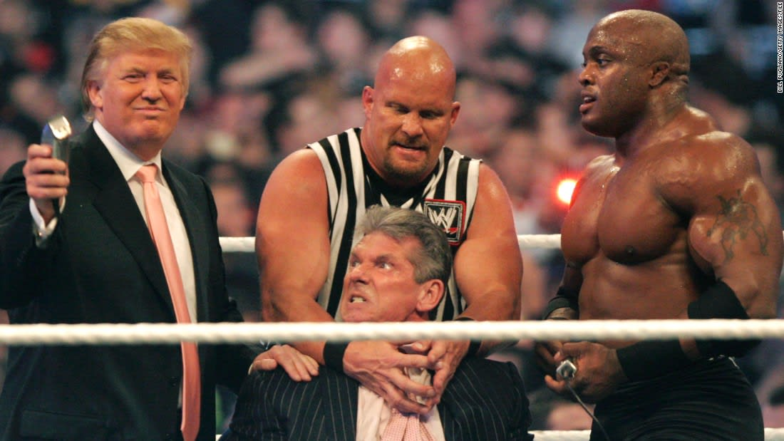 Analysis: How professional wrestling perfectly explains Donald Trump's 'Superman' stunt
