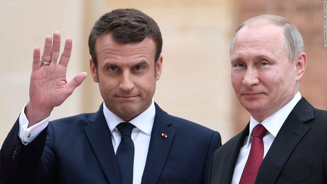 Macron's openness toward Russia is testing the patience of NATO allies