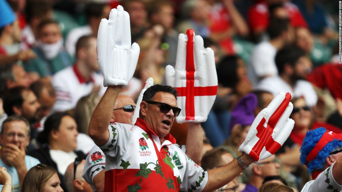 English rugby union bosses reviewing slave-era song used as chant