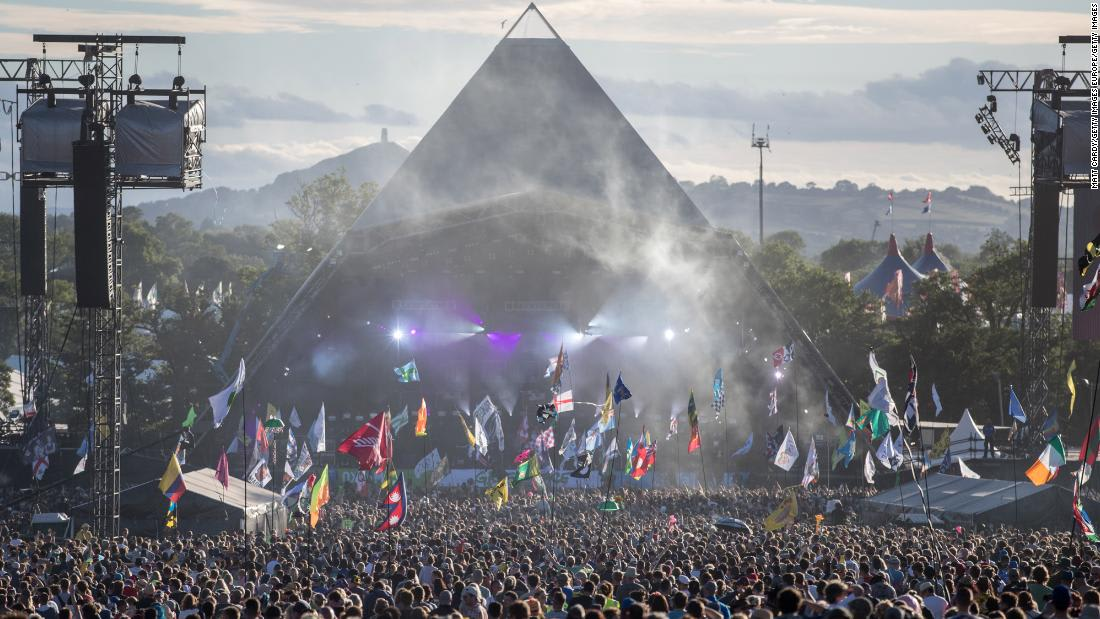 Glastonbury music festival canceled for second year