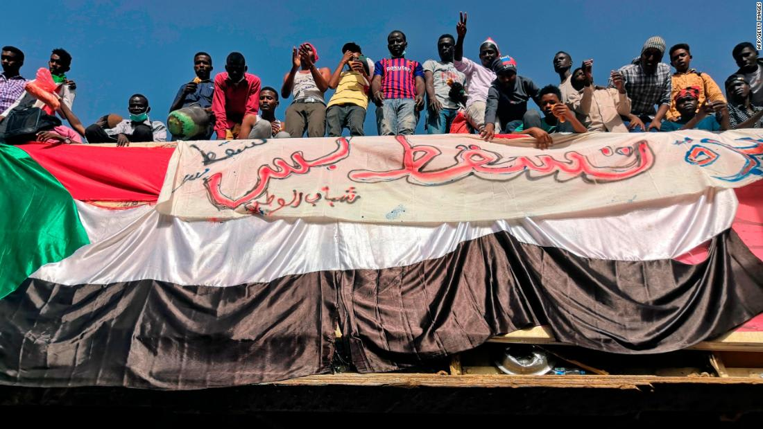 In pictures: Sudanese protest three-decade rule of al-Bashir