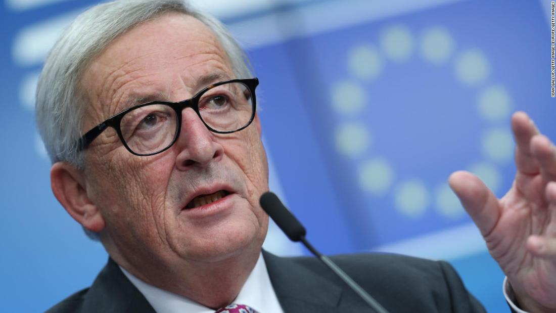 Juncker lashes out at 'stupid nationalists' on eve of European elections