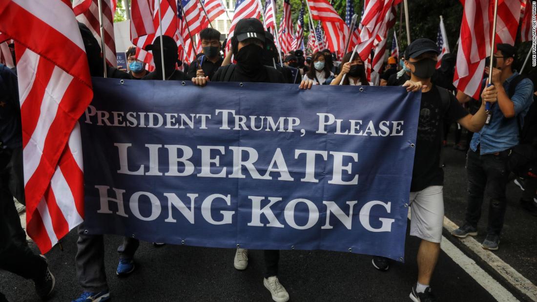 Trump's protest response gives China a propaganda win on Hong Kong