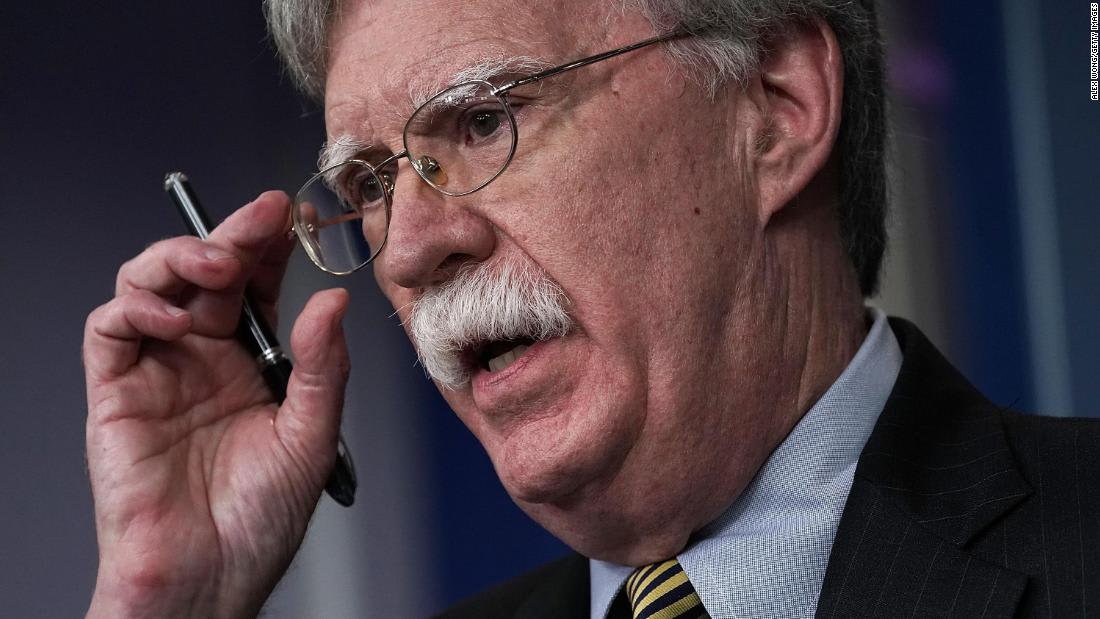 John Bolton trying to 'walk that tightrope' over role in Trump's impeachment inquiry