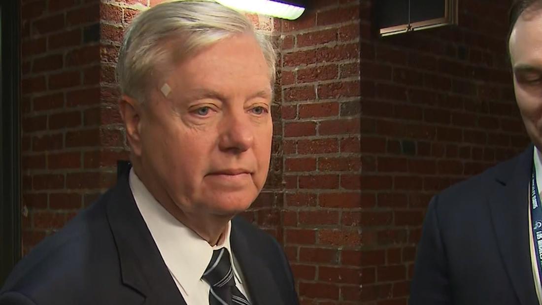 See Lindsey Graham's reaction to Gordon Sondland's admission - CNN Video