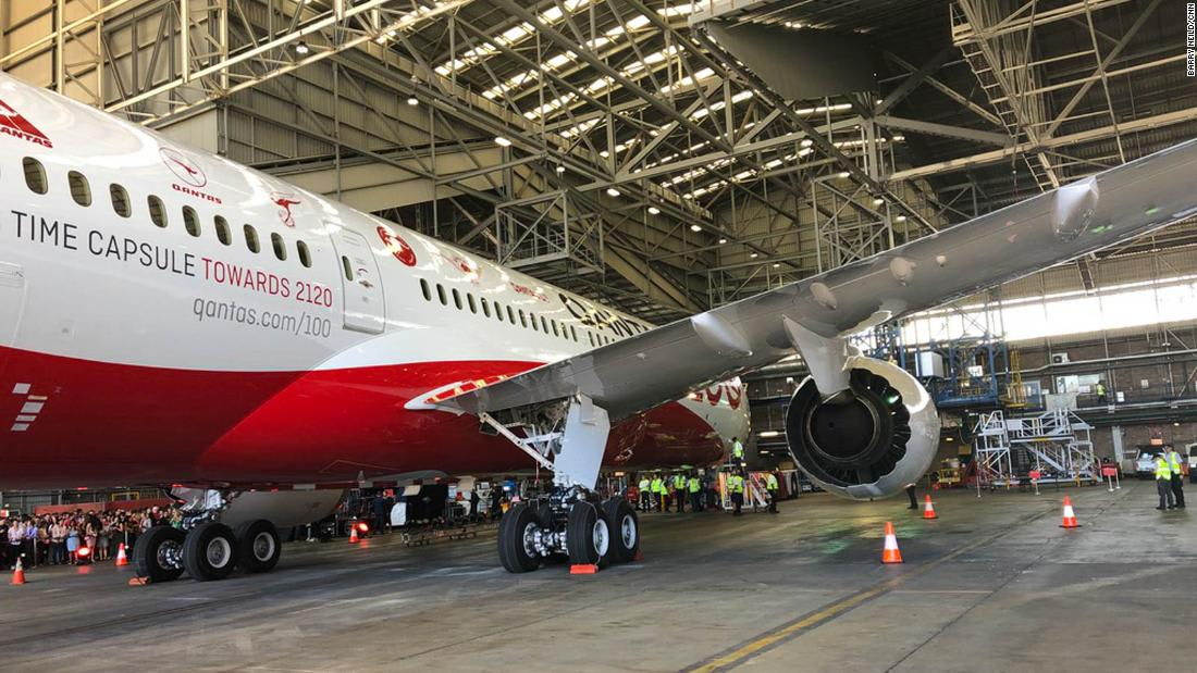Australian airline Qantas explains how it's taking care of its grounded planes amid Covid-19