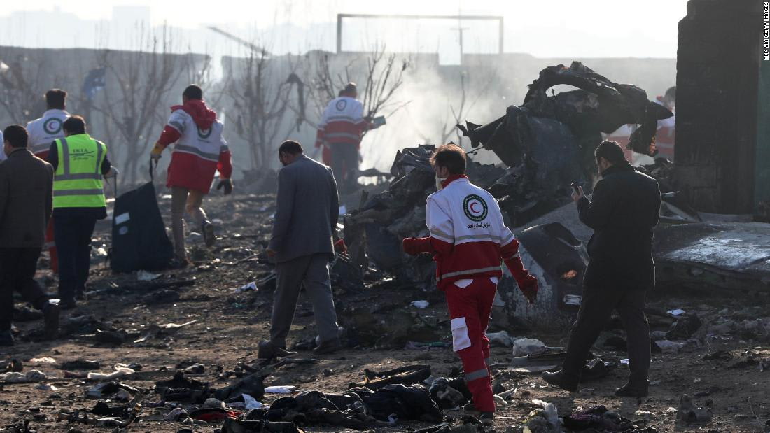 Iran says Ukrainian passenger plane was shot down unintentionally in fear of US aggression