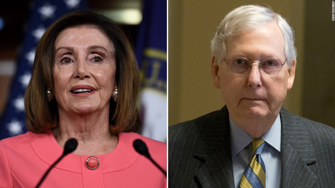 McConnell rejects Dem demand for big Covid relief package, stands by push for 'highly targeted' bill