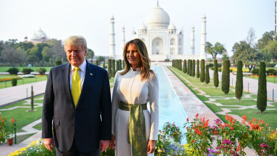 In pictures: Trump's visit to India