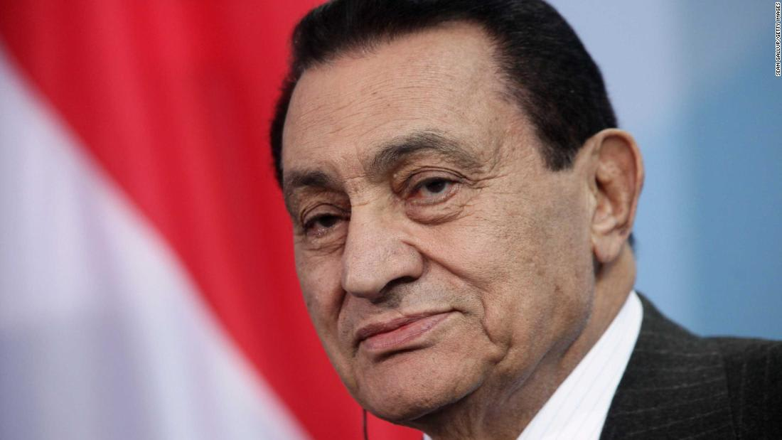 In photos: Hosni Mubarak through the years