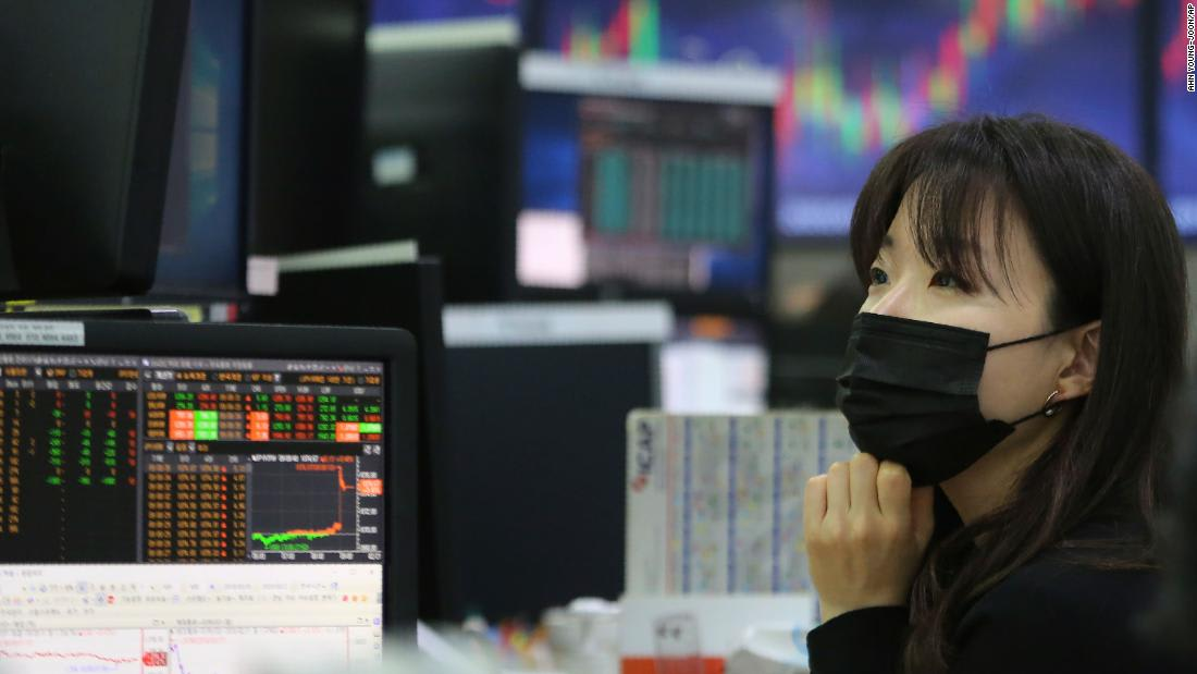Coronavirus fears are weighing on Asian markets again
