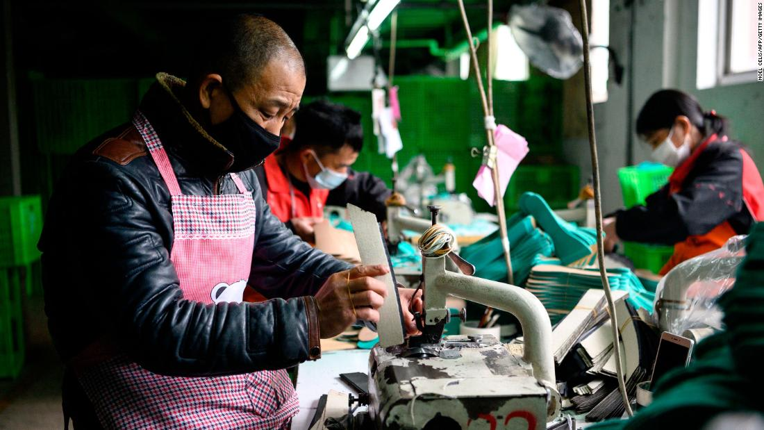 China's factories just had a historically terrible month because of the coronavirus