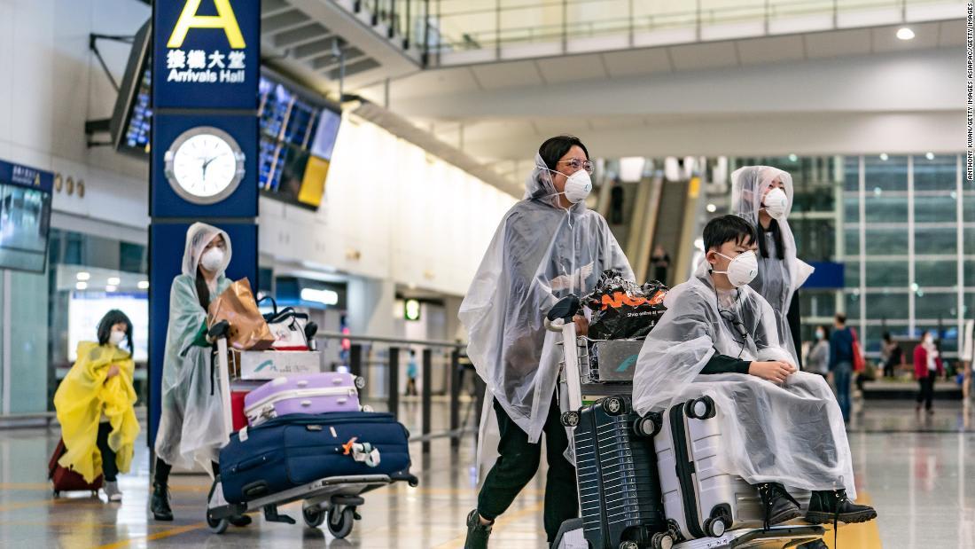 Hong Kong and Tokyo airports are handling coronavirus very differently.