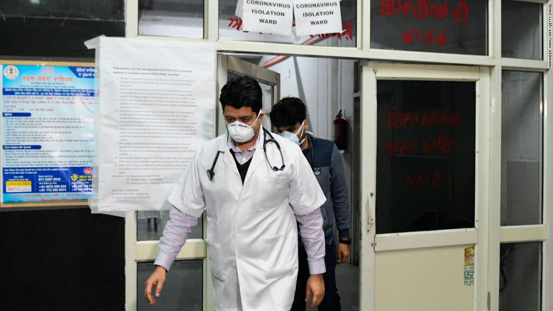 Doctors in India evicted from their homes as coronavirus fear spreads