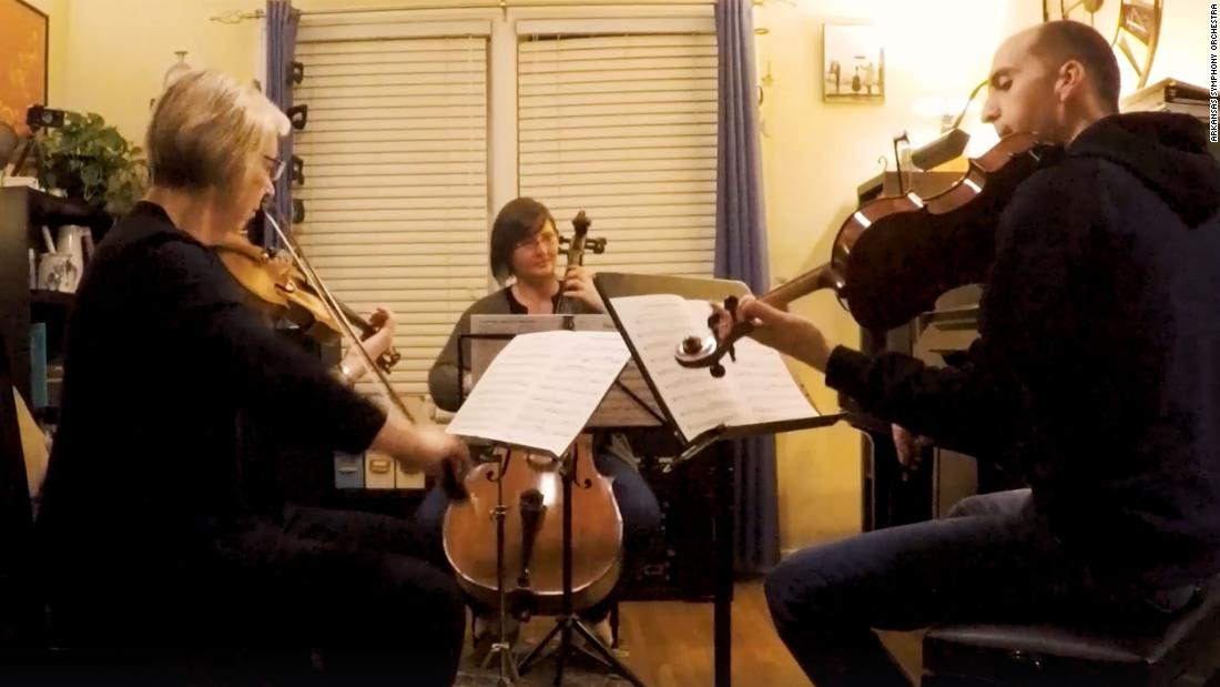 This Arkansas orchestra will soothe all your coronavirus anxiety with its bedtime lullabies