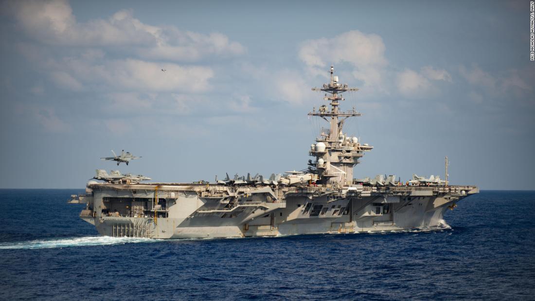 Sailors will start to return to the USS Theodore Roosevelt