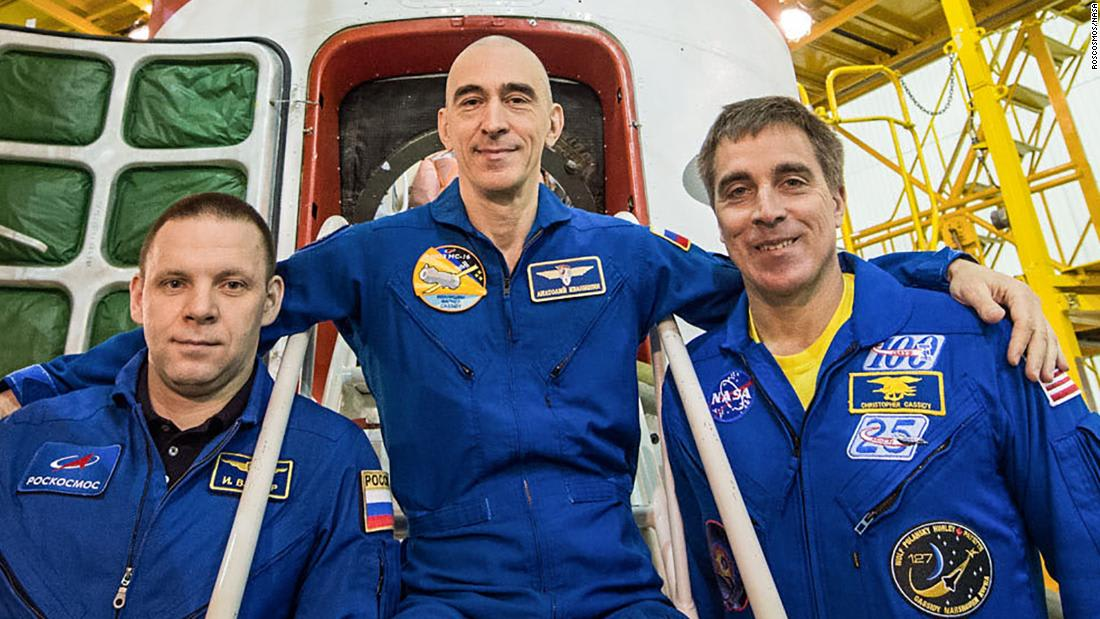 The first space station crew to launch during a pandemic is coming home