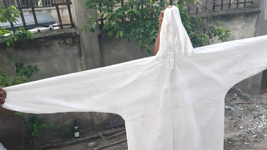 Nigerian tailors are hand-making PPE to help fight coronavirus