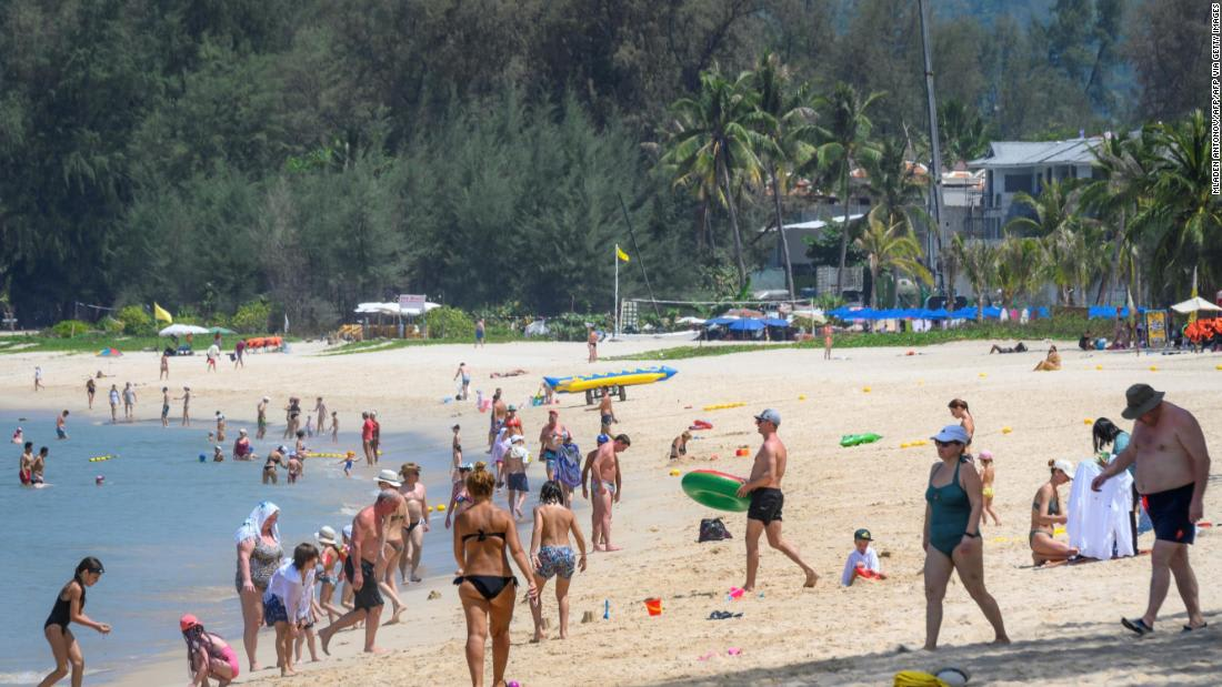 Thailand's most popular island goes into lockdown as Covid-19 cases surge
