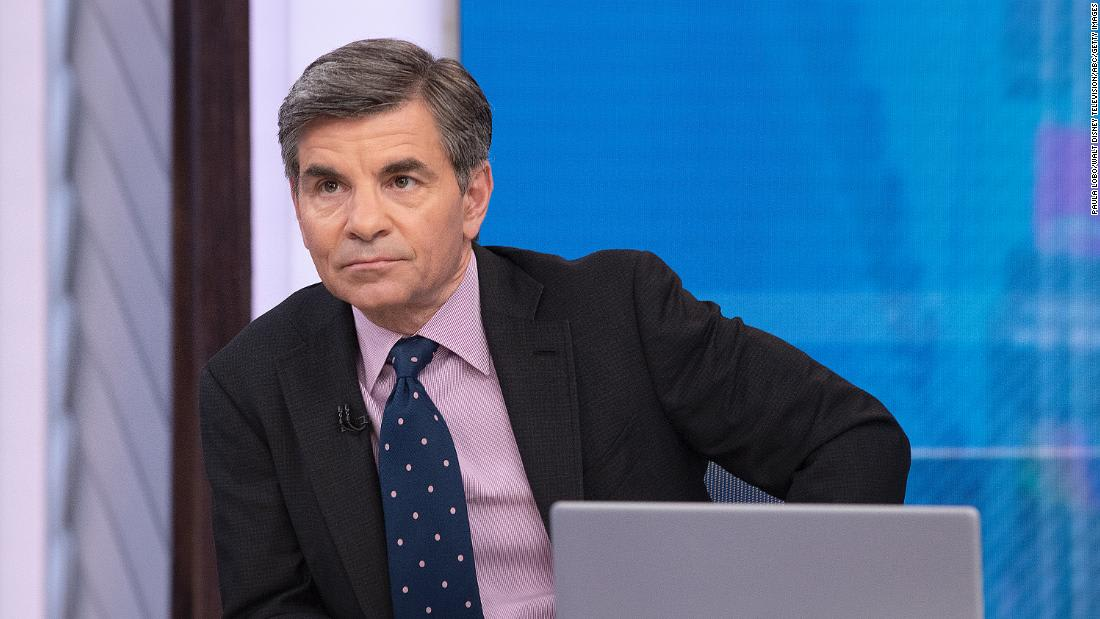 George Stephanopoulos has been diagnosed with coronavirus