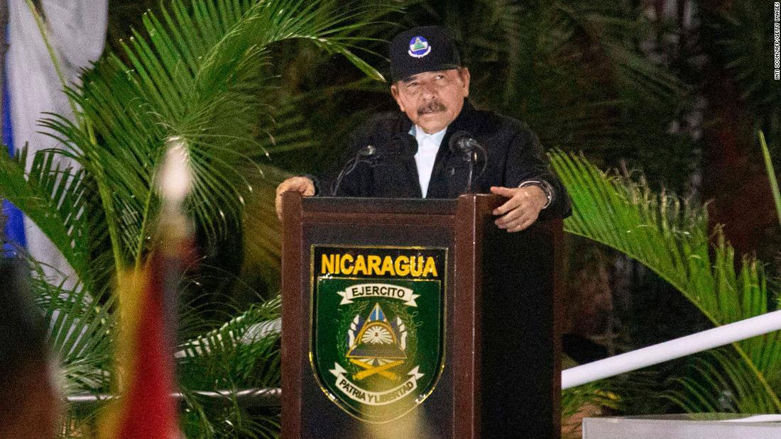 Nicaragua's president Daniel Ortega hasn't been seen in a month