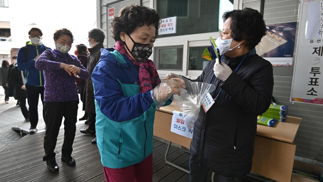 South Korean election turnout soars to highest in almost 30 years despite pandemic