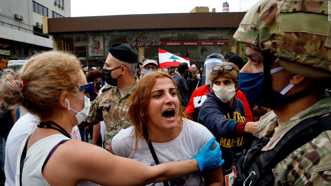 75% of Lebanon needs aid after coronavirus, and hungry protesters are back on the streets