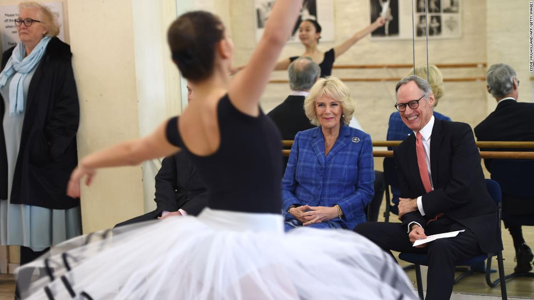 Camilla, Duchess of Cornwall is ballet-dancing her way through lockdown