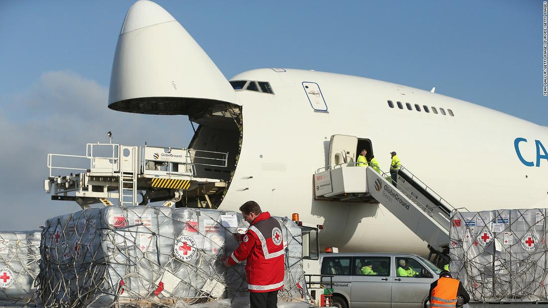'Mission of the century': 8,000 cargo jets needed to transport Covid-19 vaccines around the world, says IATA