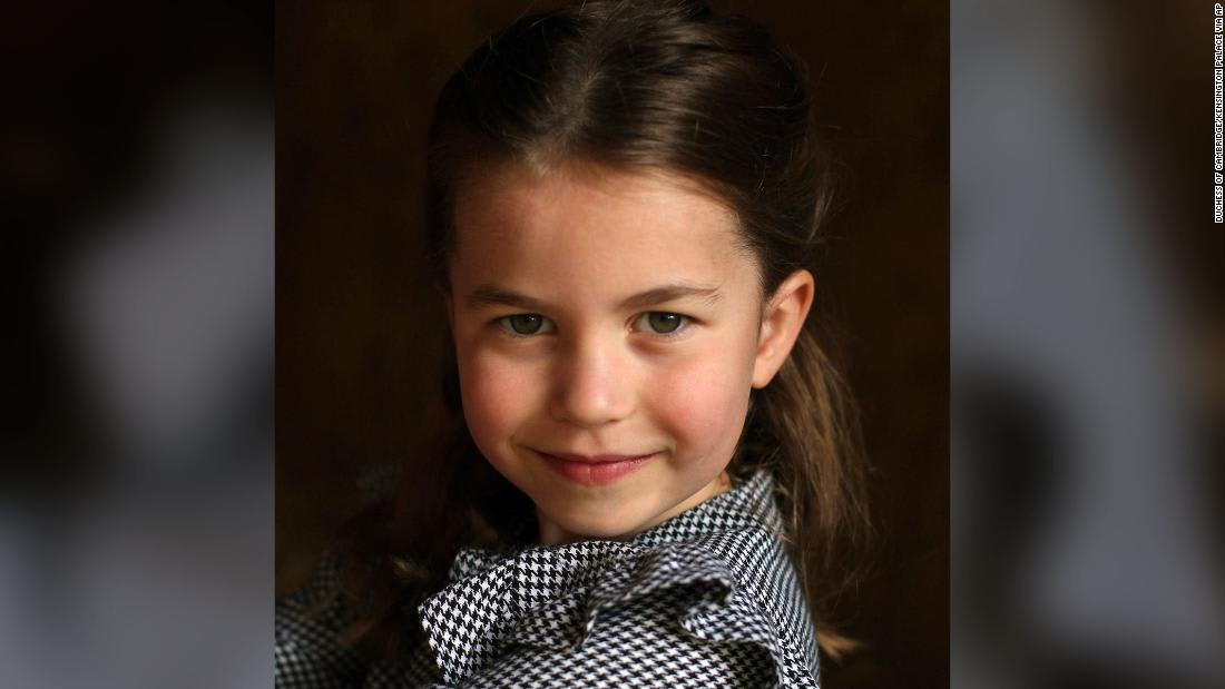 Princess Charlotte photos released to mark her fifth birthday