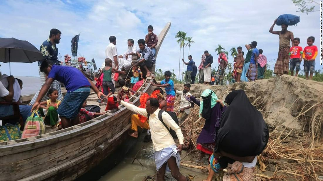 Cyclone Amphan evacuations in India and Bangladesh complicated by virus