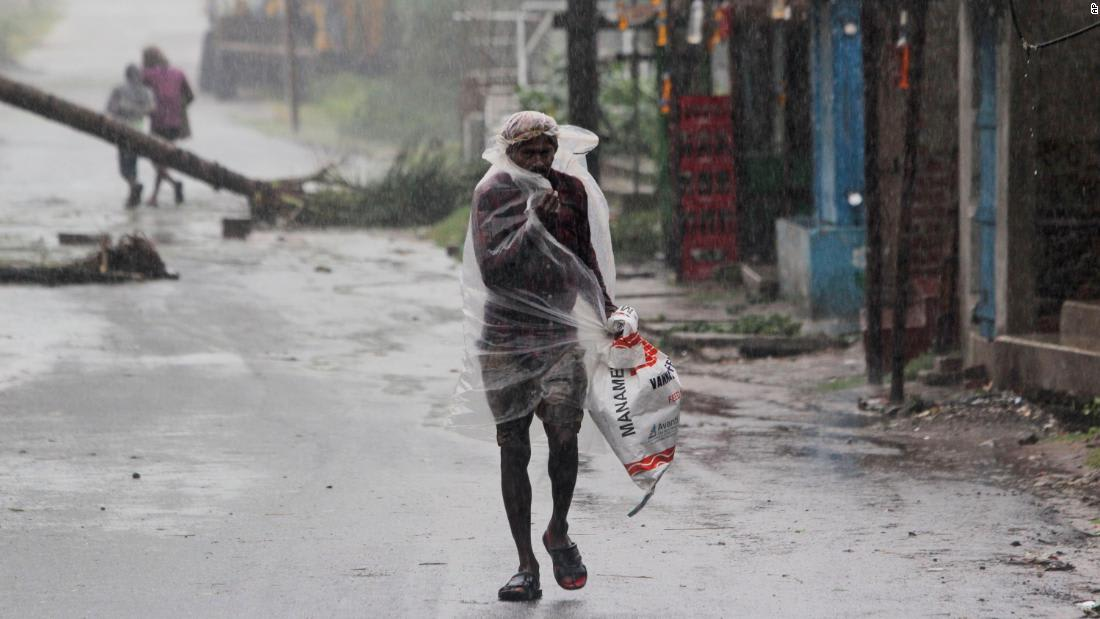 Photos: Cyclone Amphan hits India and Bangladesh
