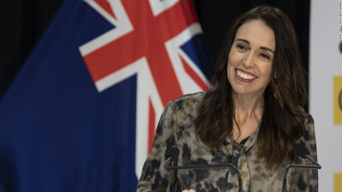 New Zealand PM Ardern floats 'four-day week' as a way to help the economy
