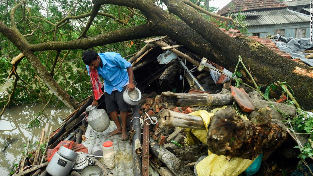 Thousands left homeless in South Asia as cyclone heaps misery on coronavirus-hit communities