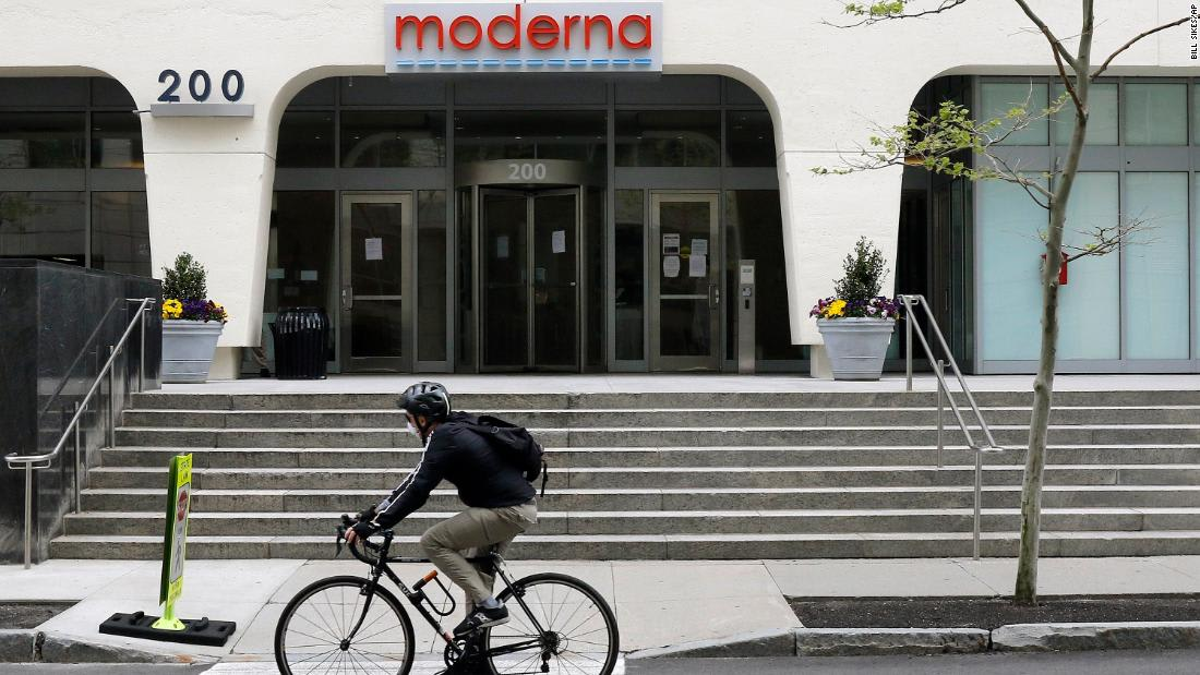 Moderna execs dumped nearly $30 million of stock after news of promising coronavirus vaccine